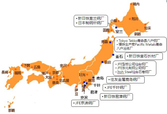 日本囹�a��.X�_日本大地震对日本钢铁行业的影响