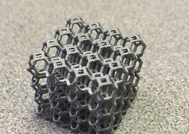 承重408公斤的晶格结构